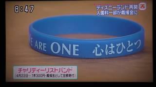 【震災後】東京ディズニーリゾート再開 TV番組.