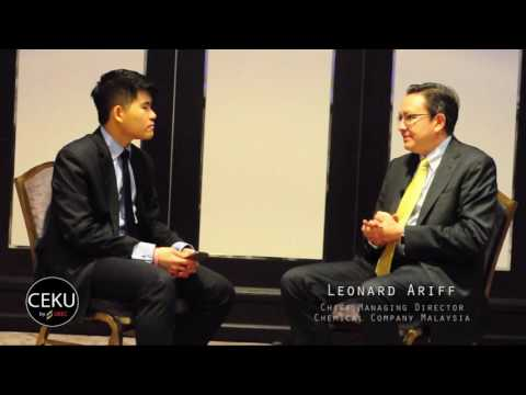 Interview with Leonard Ariff, Group Managing Director of CCM
