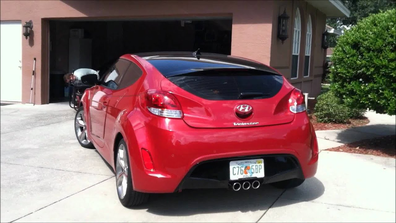 Ark Dts Exhaust On 2012 Hyundai Veloster Youtube