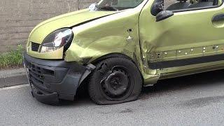 Unfall im Begegnungsverkehr ging glimpflich aus