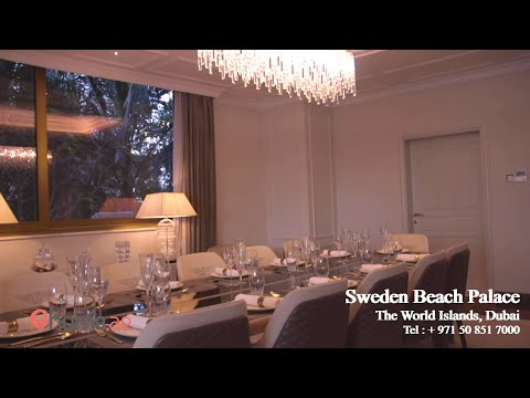 Luxury Palace Sweden Beach Palace Villa For Sale In World Islands Dubai Your Real Estate Ihome.ae