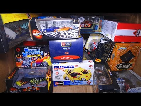 What's in the box: Boxed Model Cars + Motorcycles! (Toy Cars #4)