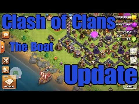 Thumbnail: Clash of Clans boat update | COC Update sucks not worth the hype