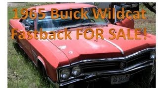 1965 Buick Wildcat Fastback FOR SALE