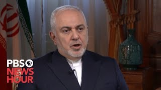 WATCH: Iranian Foreign Minister Mohammad Javad Zarif says 'nothing is inevitable' with U.S. and Iran