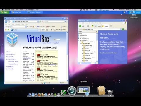 host virtual machine