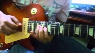 ciudad de colores tutorial solo guitarra Bani muñoz