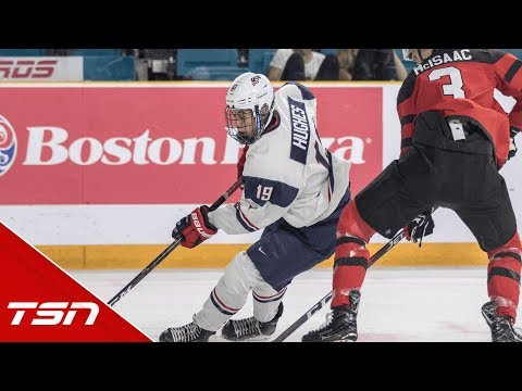 Jack Hughes ready to take on hype heading into World Juniors