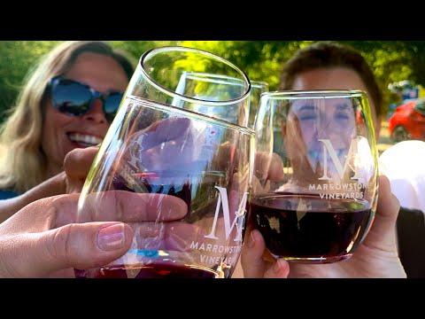 Marrowstone Vineyards Wine Tasting