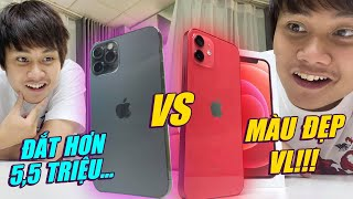 SO SÁNH iPHONE 12 VS iPHONE 12 PRO: CHÊNH 5.5 TRIỆU - MUA iPHONE 12 RẺ MÀ NGON HƠN???