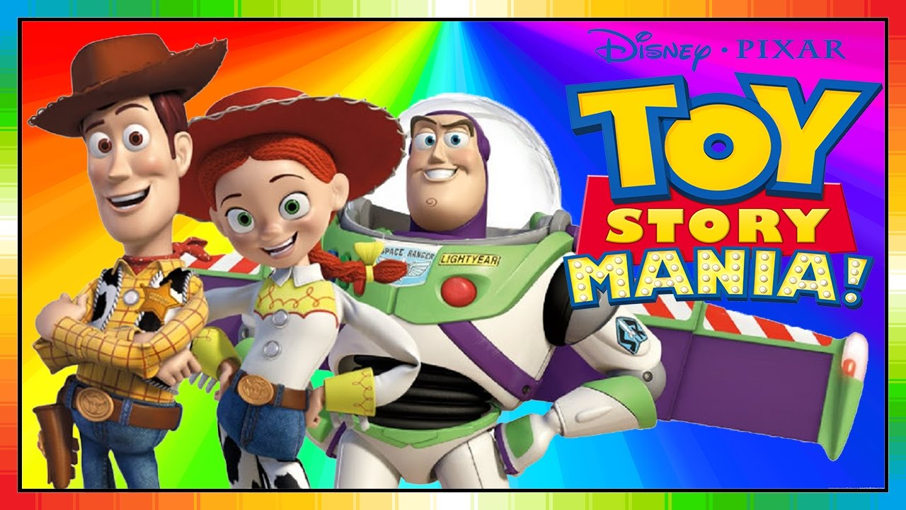 Toy Story Mania - ESPAÑOL - película para niños - kids movie - Woody Buzz  Lightyear (Trailer Game) 4cc9e500b0d