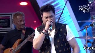 """Tujhe Dekha Toh Yeh"" by Kumar Sanu and Anuradha Gosh at 55th Bengaluru Ganesh Utsava"