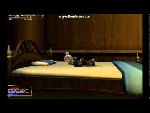 Ffxiv Lalafell Male Bed Animation Youtube