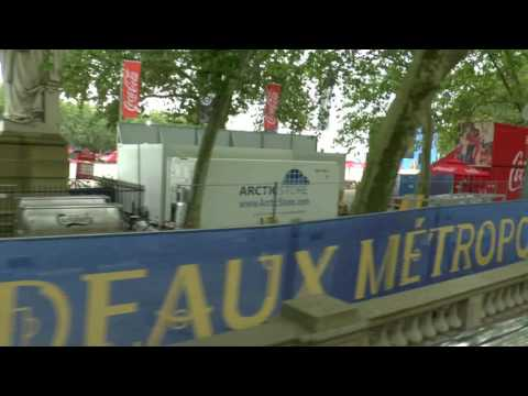 My French Holiday Videos 2016 - 4, Bordeaux City Tour