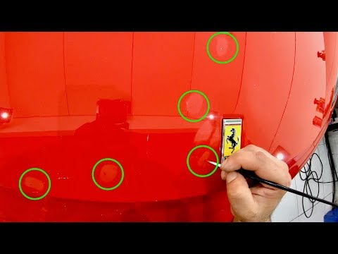 "How To Correctly ""Paint Touch-Up"" Stone Chips On Your Car To Get The Best Results!"