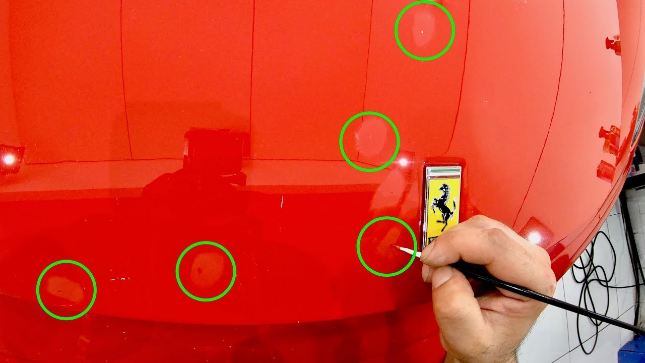 How To Correctly Paint Touch Up Stone Chips On Your Car To Get The Best Results