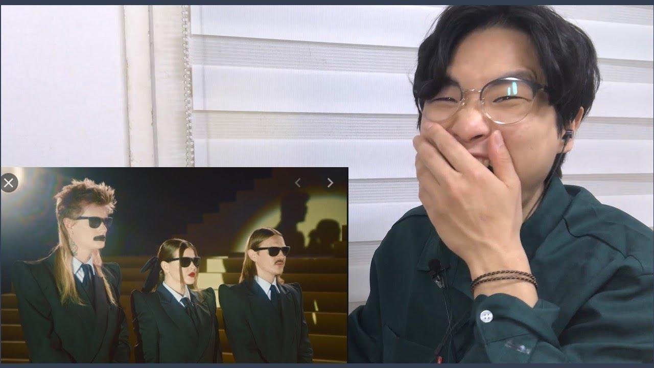 Реакци корейца на LITTLE BIG - SEX MACHINE