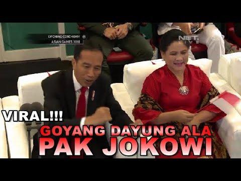Meraih Bintang Dengan Goyang Dayung Ala Pak Jokowi #OpeningCeremonyAsianGames2018