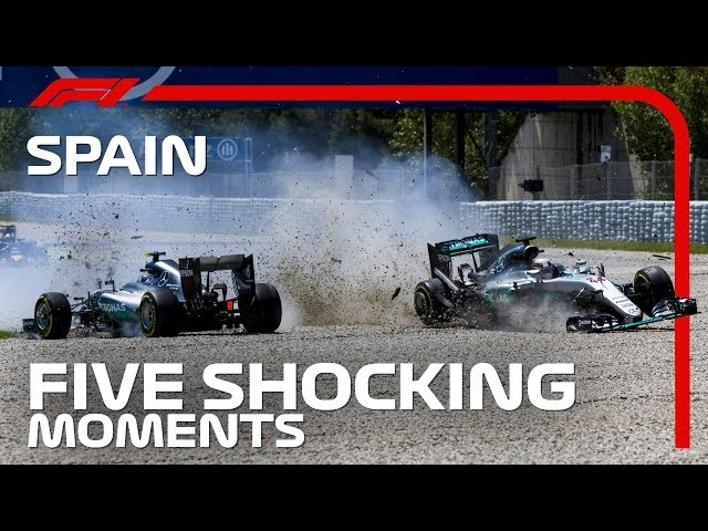 5 Shocking Moments At The Spanish Grand Prix
