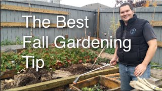 The Best Fall Gardening Tip