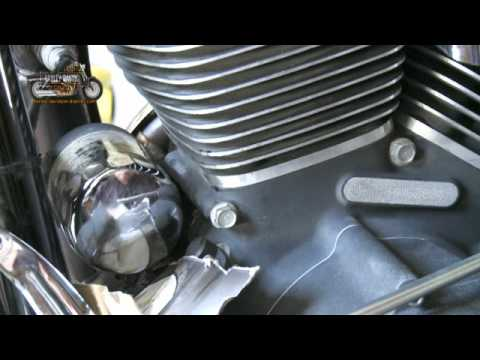 Harley Davidson Oil and Filter Change - YouTube