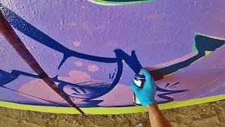 Graffiti - Rake43 - Colors in the Tunnel