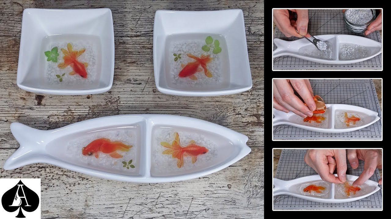 3d Fish In Resin Stickers New Fish Designs No Painting Youtube