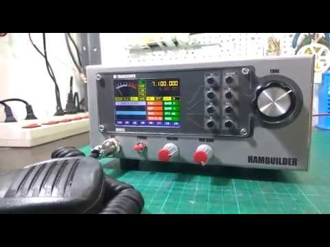 All Band DIY HF Transceiver using RTC03+BritX