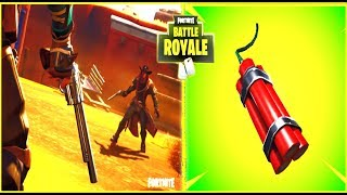 "FORTNITE-MTL: OLD WEST & NEW ITEM ""DYNAMITES"" 