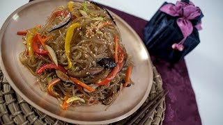 Korean Japche (fried Noodles) Recipe - Korean Series Video 3 - Cookingwithalia - Episode 375