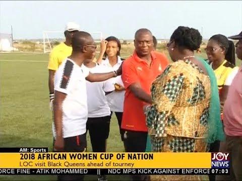 2018 African Women Cup of Nation - AM Sports on JoyNews (20-10-17)