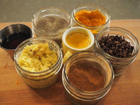 Golden Milk Turmeric Drink | Winter Immunity Drink | Vaidya Priyanka | AUMcuisine