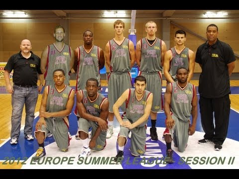2012 Europe Summer League Game #13 - September 23, 2012 -PSM All-Stars vs Latvia University (LATVIA)