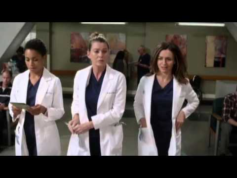 Grey's Anatomy 12x03 Meredith Maggie e Amelia - YouTube