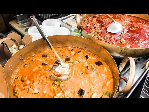 Curry, Noodles and More Thai Food Tasted in London. Street Food of Thailand