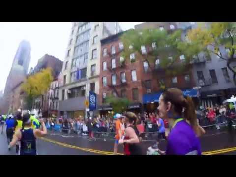 Running the 2017 NYC Marathon