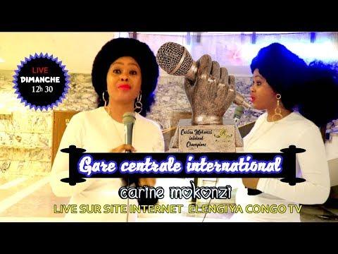 LIVE : GARE CENTRALE INTERNATIONAL DE CARINE MOKONZI BA BRAZZAVILLOIS BA WANGANI LIZEZE  YA PARIS