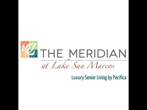 The Meridian at Lake San Marcos. Luxury Senior Living in California.
