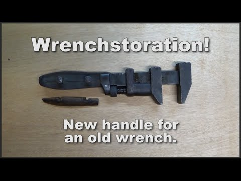 """WRENCHSTORATION"" - Restoring an antique P S & W Monkey Wrench"