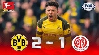 Borussia Dortmund - Mainz 05 [2-1] | GOLES | Jornada 29 | Bundesliga