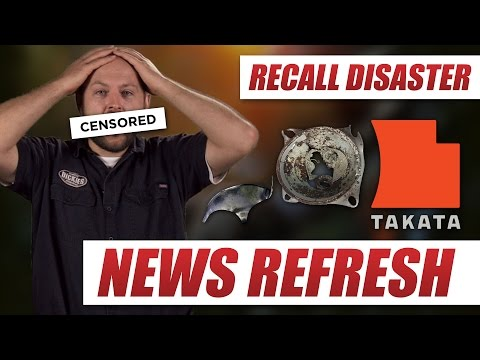 Takata Airbag Recall Disaster & How to See If Your Vehicle is Recalled