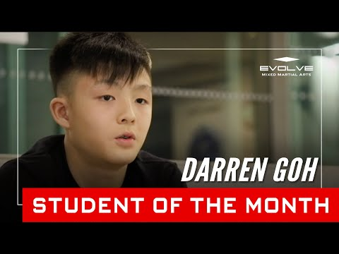 Evolve MMA | Student of the Month: 15-year-old Darren Goh