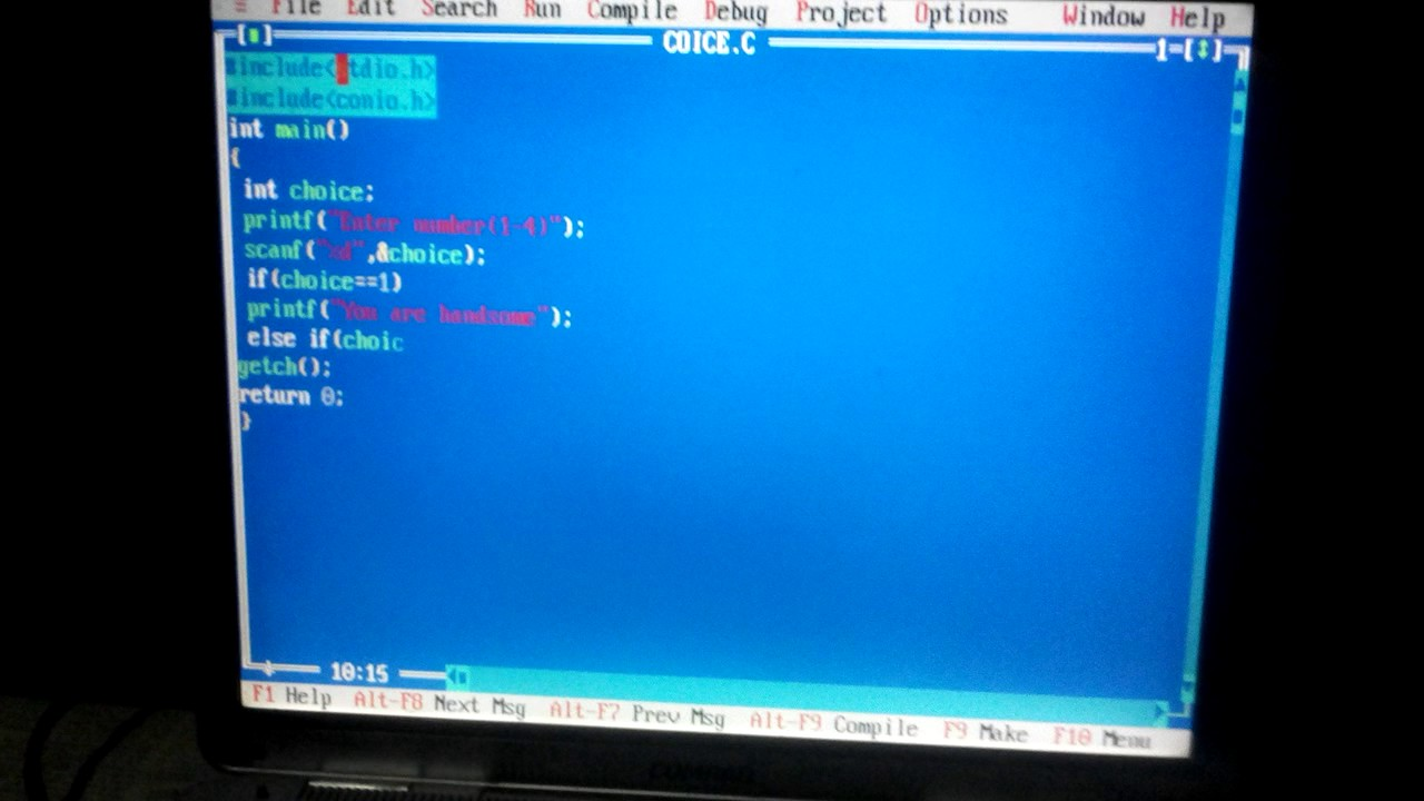 how to make simple game in c language