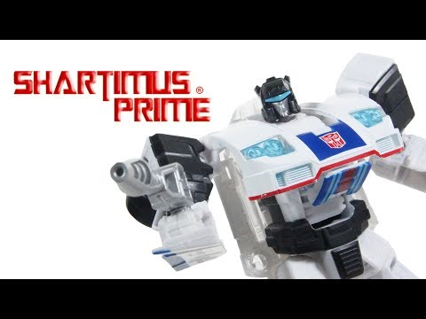 Transformers Jazz Power of the Primes Deluxe Class Combiner Prime Armor Hasbro Action Figure Toy Rev