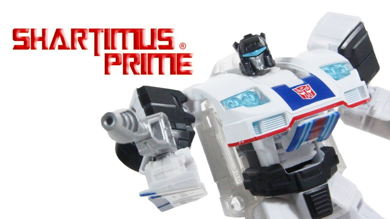 Transformers Jazz Power Of The Primes Deluxe Class Combiner Prime