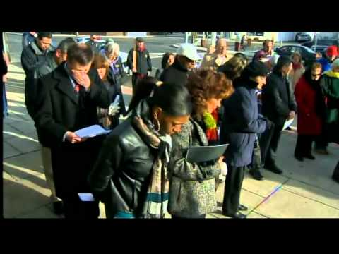 Pro-life activists hold rally in Bridgeport