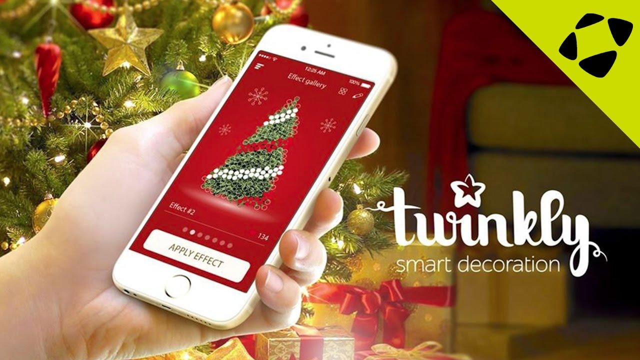pretty nice 2b3c8 79f50 Twinkly Smart Christmas Tree LED Lights - Create Amazing Lighting  Animations from your Smartphone