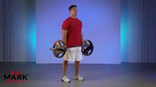 XMark Olympic Shrug Bars - XM-3684