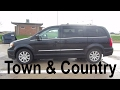 2016 Chrysler Town and County Touring Passenger Van - Rental Car Review and Test Drive