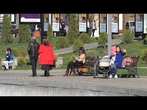 Yerevan, 18.03.18, Su, Video-1, (на рус.), Прогулка от Оперы до Лебединого Озера.